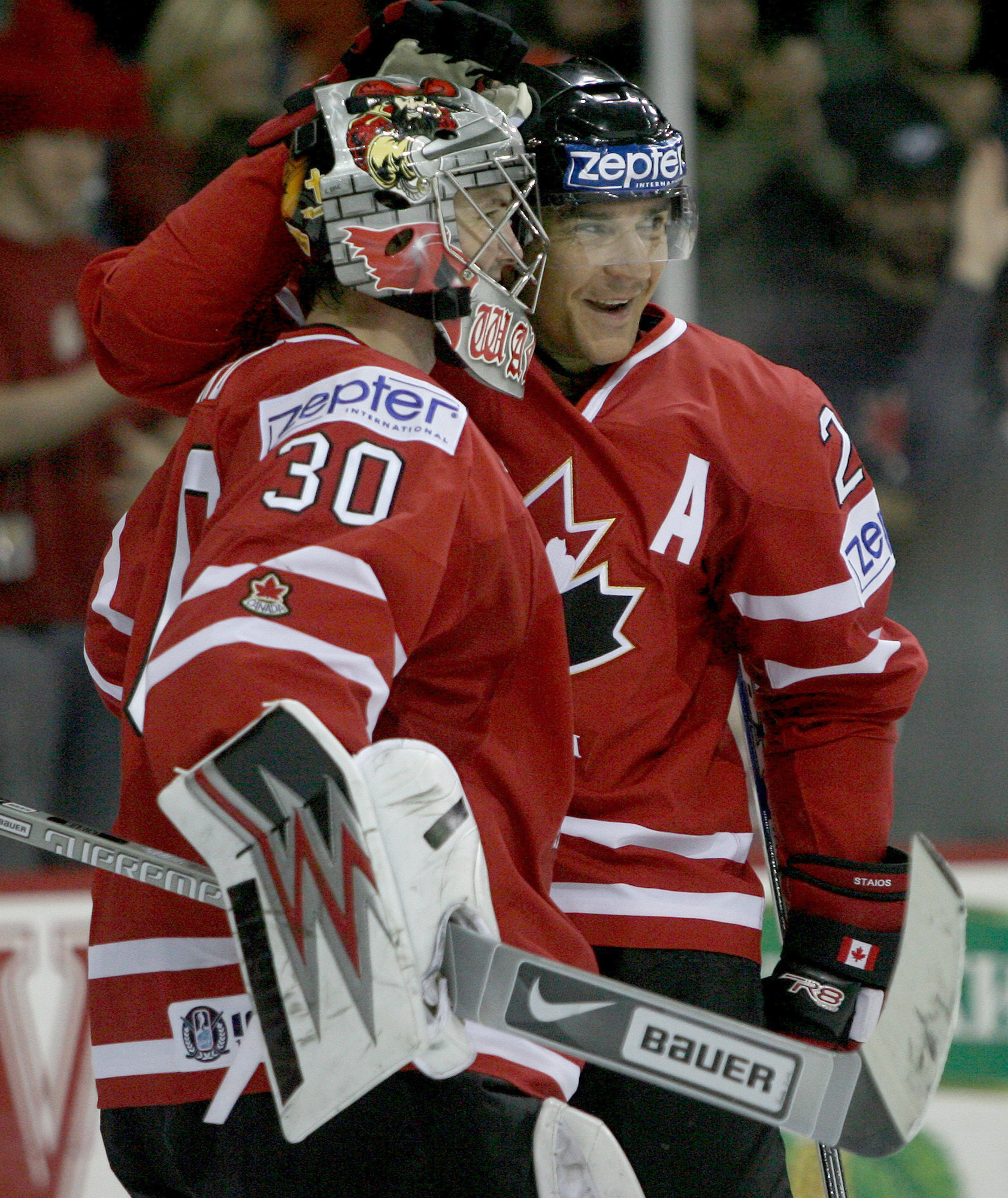 Cam Ward, Steve Staios